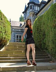 Standing on the Stairs 1