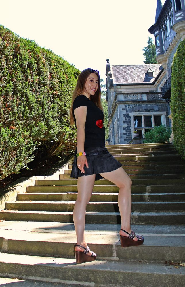 Standing on the Stairs 2