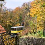 Standseilbahn, eine der touristischen Attraktion in Dresden