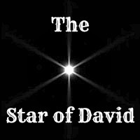 Star of David Twinkling of Real Star in Outer Space