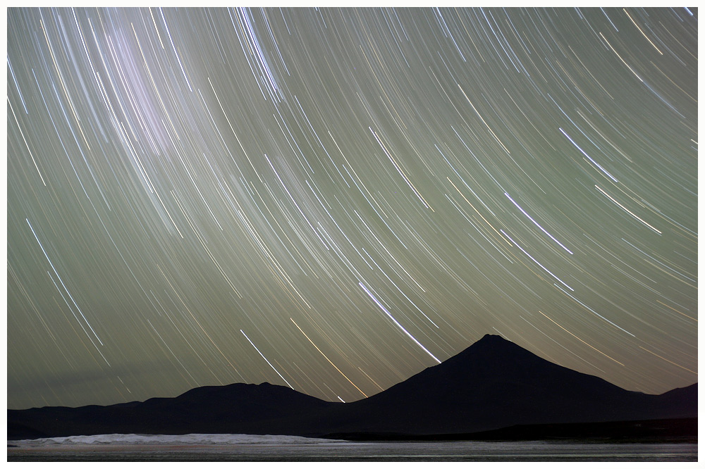 Star trails..