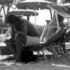stare insieme in spiaggia