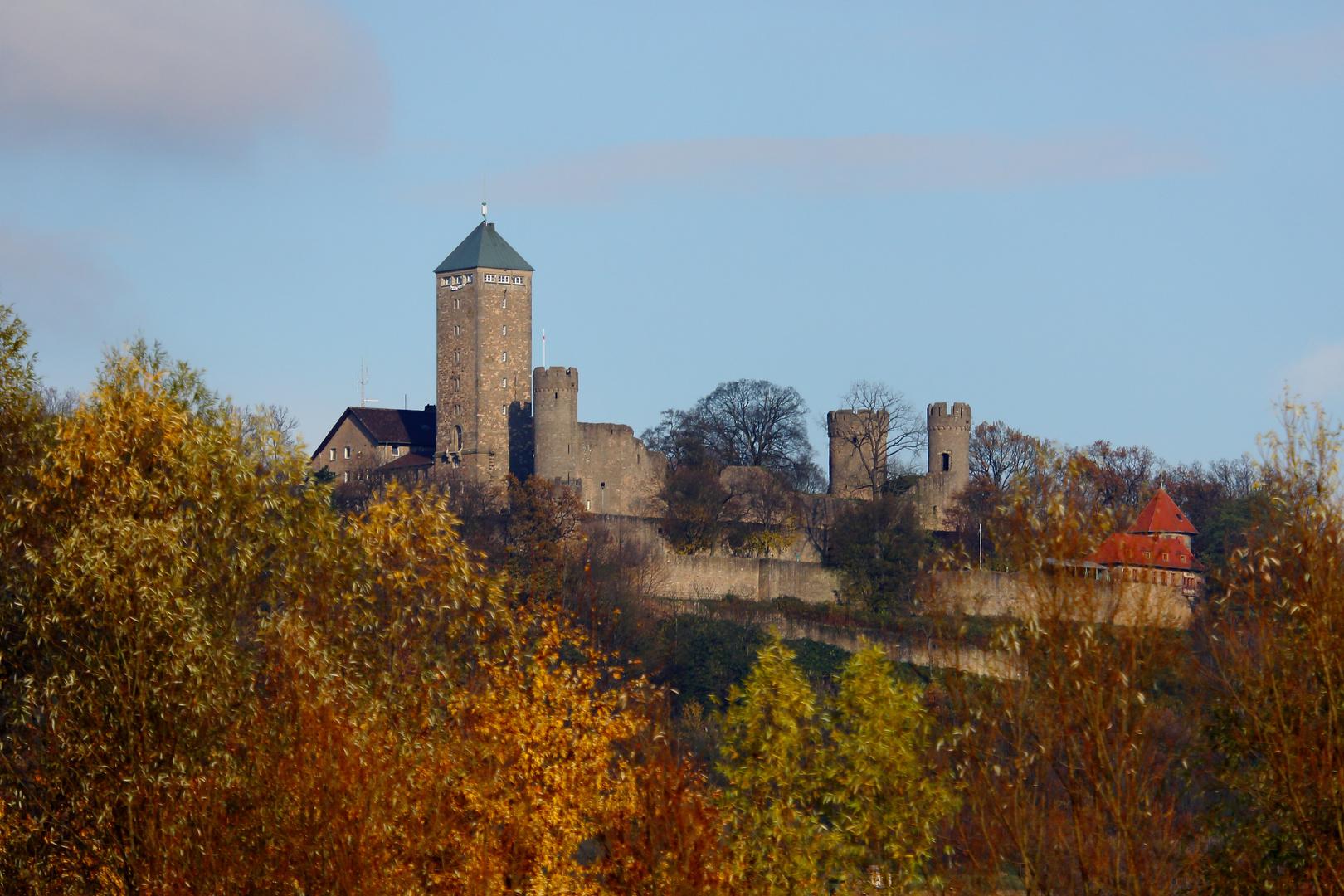 Starkenburg auf dem Schlossberg bei Heppenheim