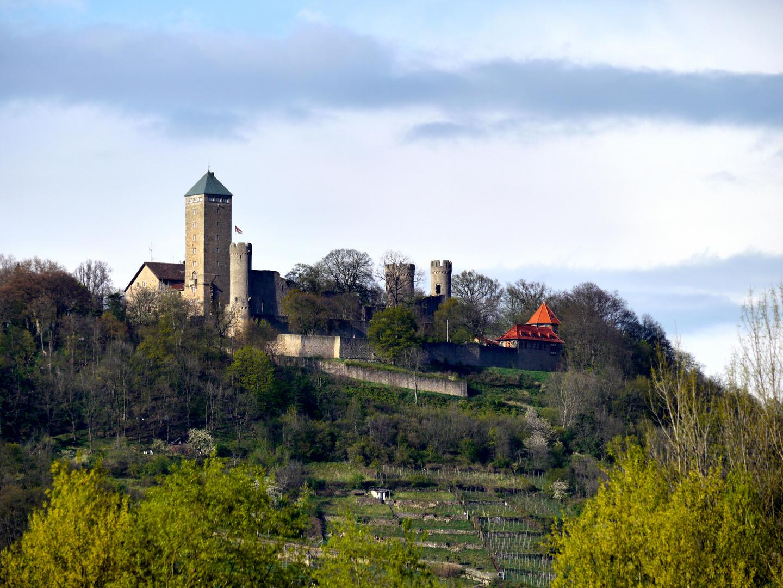 Starkenburg über Heppenheim (III)