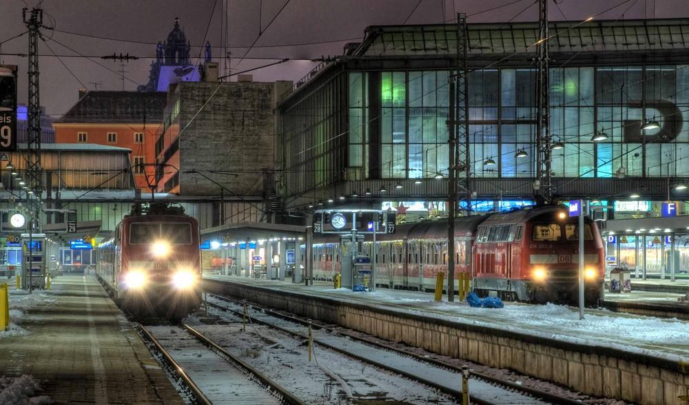 Starnberger Bahnhof MГјnchen