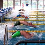 Start-Dynamik beim Rückenschwimmen