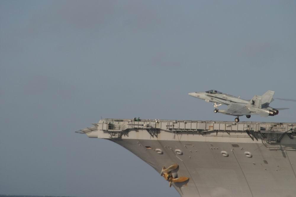 Start eines Jet´s von der USS Enterprise