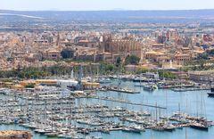 Startpunkt der Reise: Palma