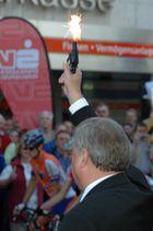 Startschuß zur Hessenrad Tour 2004