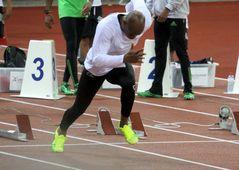 Startvorbereitung 100 m