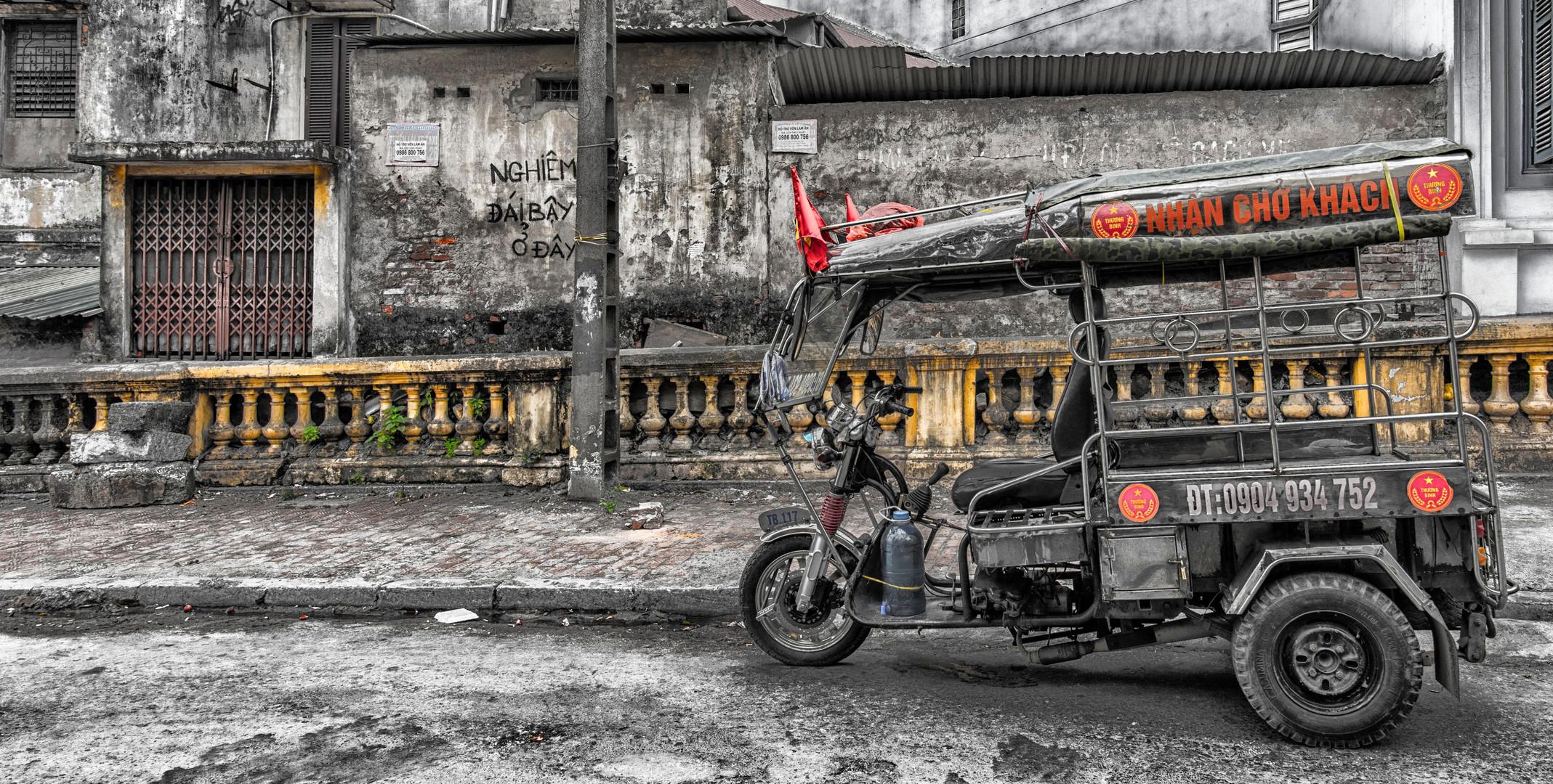 Stassenszene in Hanoi