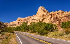 State Route 24, Capitol Reef NP, Utah, USA