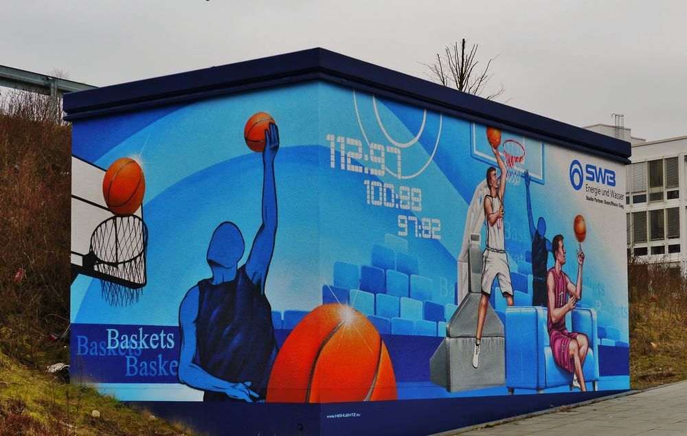 Station der SWB am Basketsring