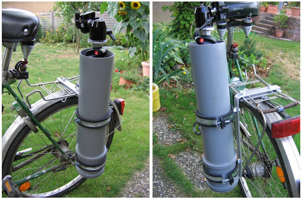 Stativhalter fürs Fahrrad