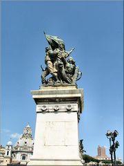 Statua a Roma...Wie Dazunal.