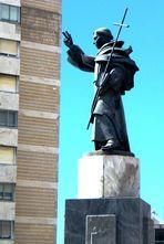 Statua di Sant Antonio da Lisbona a Padova...