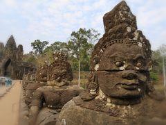 Statue Angkor Torwaechter Camb P20-20-colbea