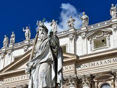 Statue Apostel Paulus
