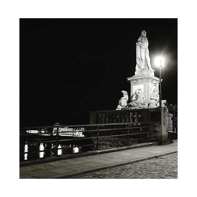 Statue auf der alten Brücke