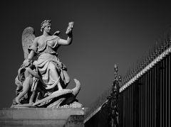 Statue beim Schloß Versailles