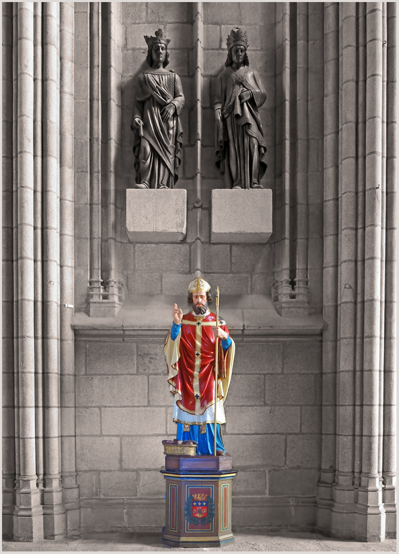 Statue de Saint-Martial