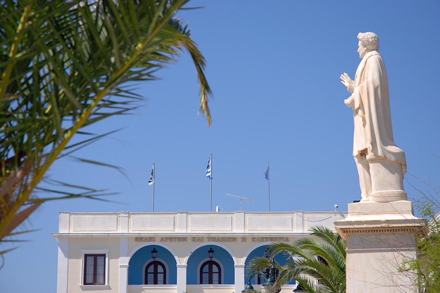 Statue des Dionisios Solomos