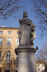 Statue du Roi René, Aix en Provence .....
