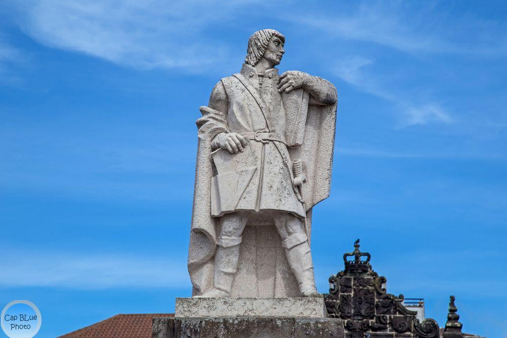 Statue Goncalo Velho Cabral