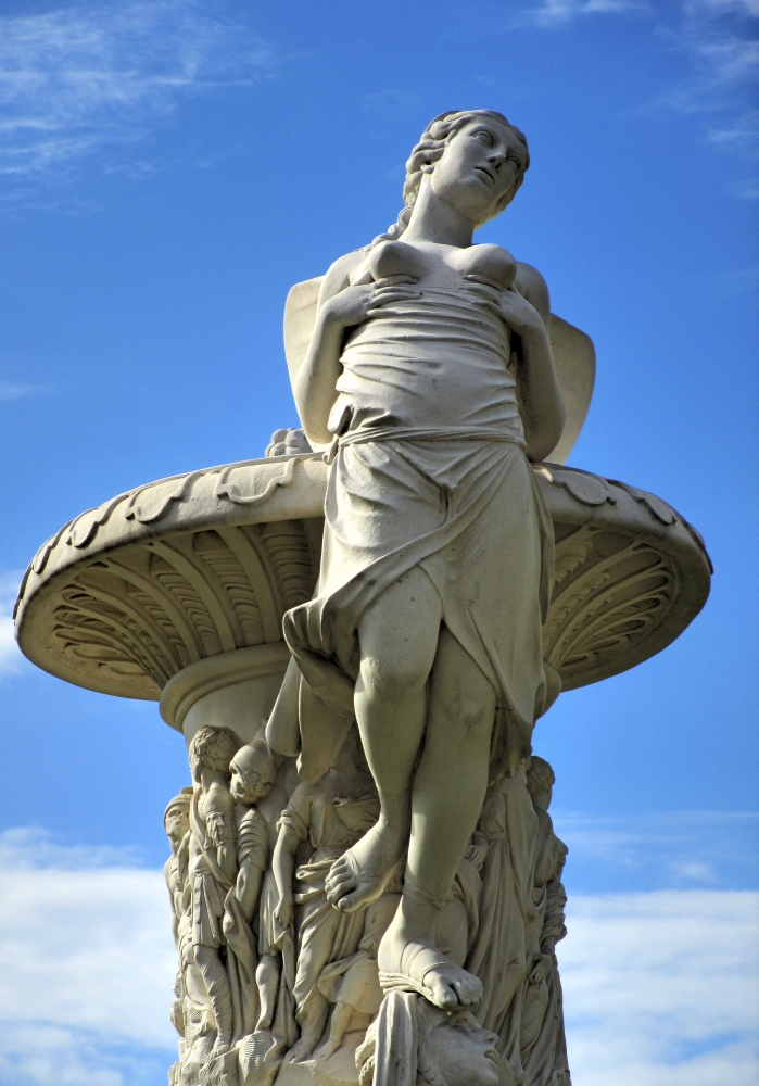 Statue im Großen Garten (1)