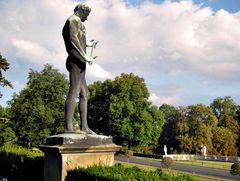 Statue im Nordischen Garten von Sanssouci