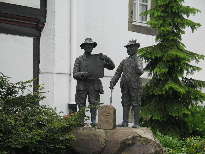 Statue in Brilon