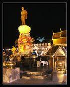 Statue Khun Ying Mo wie sie von den Bewohner Korats genannt wir
