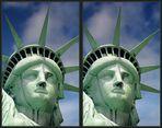 Statue of Liberty - 3D (Konversion aus einem Mono-Bild)