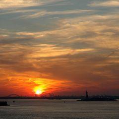 Statue of Liberty @ Sunset