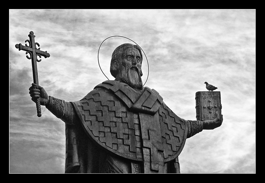 Statue of Stct. Sava