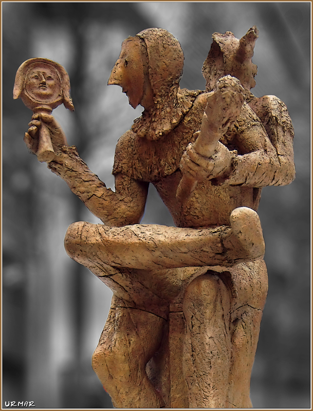 Statue Till Eulenspiegel.