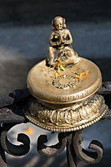 Statur beim Stupa von Swayambunath