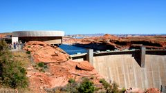 Staudamm am Colorado River in Glen Canyon 1