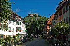 Staufen im Breisgau mit Blick zum Schloßberg
