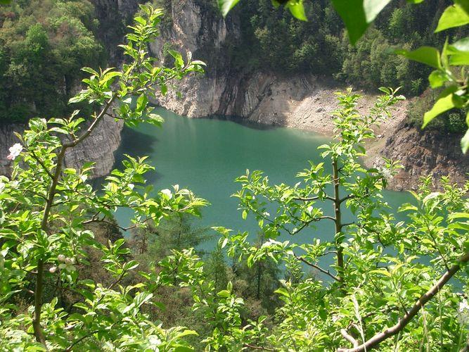 Stausee bei Fondo (Südtirol)