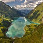 Stausee Wasserfallboden in Österreich