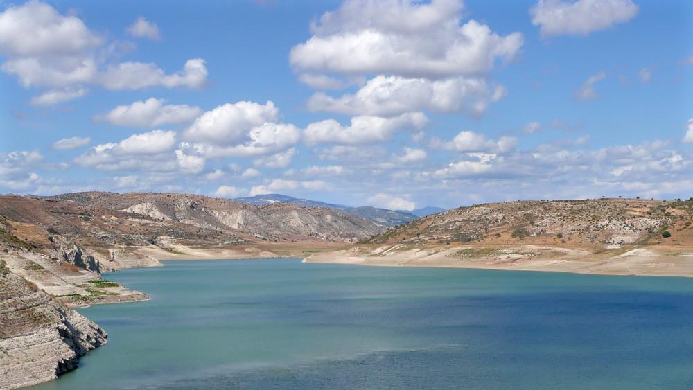 Stausee Zypern