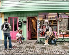 Stavanger, zona commerciale.