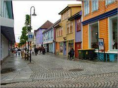 Stavanger, zona commerciale .