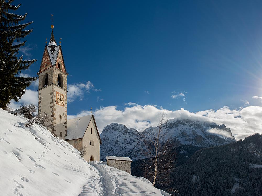 ... St.Barbara in Wengen - Südtirol ...