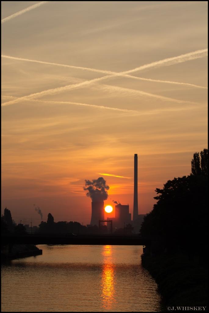 Steag Herne Sonnenaufgang2