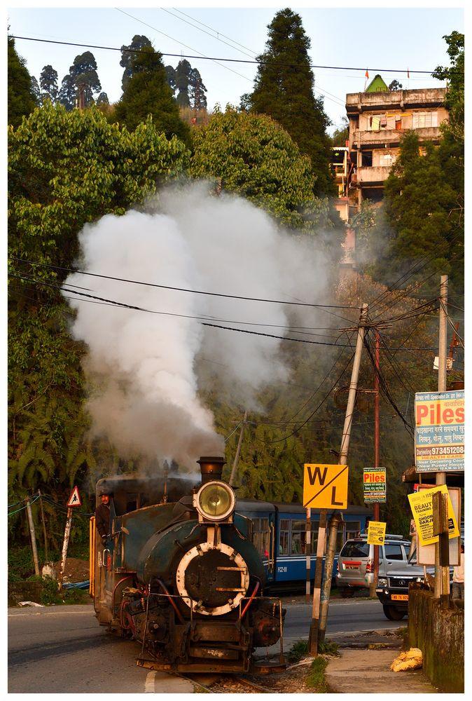 Steam Freight nach Darjeeling  -  ENDE