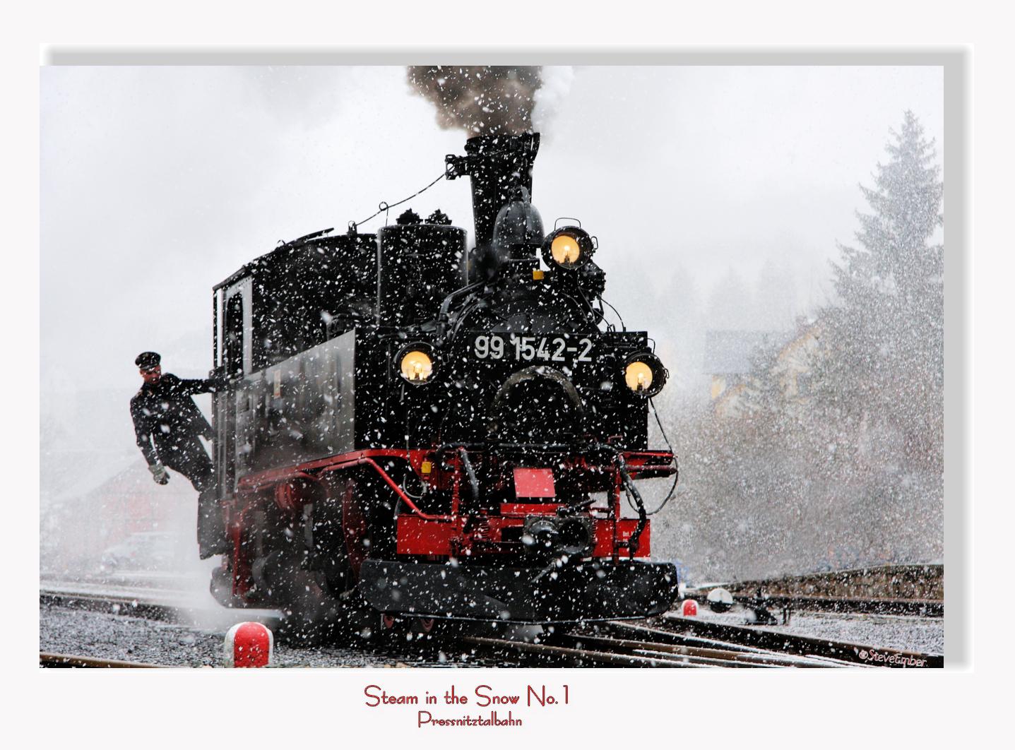 Steam in the Snow, Pressnitztalbahn No.1