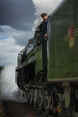 Steam on a Stormy Summer Afternoon