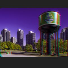 Steam Whistle Brewery 3-D